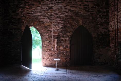 chapel entrance interior