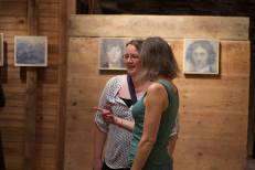 Artist Marybeth Chew and Jenn Warpole, photo by Garth Herrick.