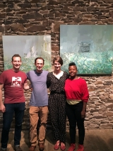 Scott Sheppard, Alex Cohen, Clara Weishahn, Jennifer Kidwell with work by Stephanie Pierce
