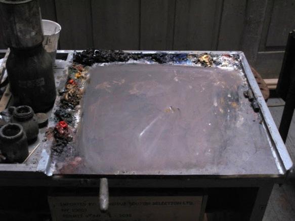 Saniga's palette.