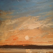 Wissler Unknown oil on paper 8 x 8 inches