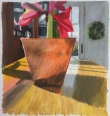 Mike Dowley, Amaryllis, Pastel on paper