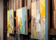 Paintings by Deborah Kahn.