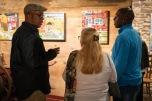 Melvin Nesbitt Jr. and visitors.
