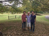 Clara Weishahn, Ron Prigat (Kings Oaks 2018) and Alex Cohen