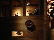 Sculptures by Mayumi Sarai.