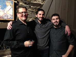 Nicholas Hesson, Francis Brunell, and Shane Goldfarb.
