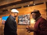 Artists Melvin Nesbitt Jr. and Leroy Johnson.