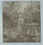 "Statue of Persephone, Gillian Pederson-Krag, Etching, AP, 12.25"" x 13.75"", 2005"